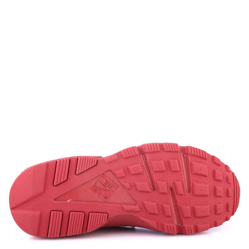 женские красные  кроссовки nike wmns air huarache run 634835-601 - цена, описание, фото 4