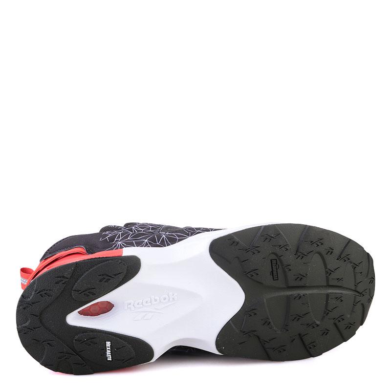 мужские красные  кроссовки reebok instapump fury road V67865 - цена, описание, фото 4