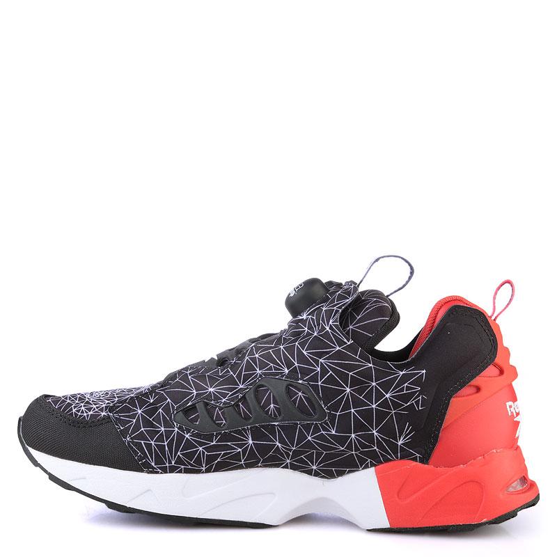 мужские красные  кроссовки reebok instapump fury road V67865 - цена, описание, фото 3