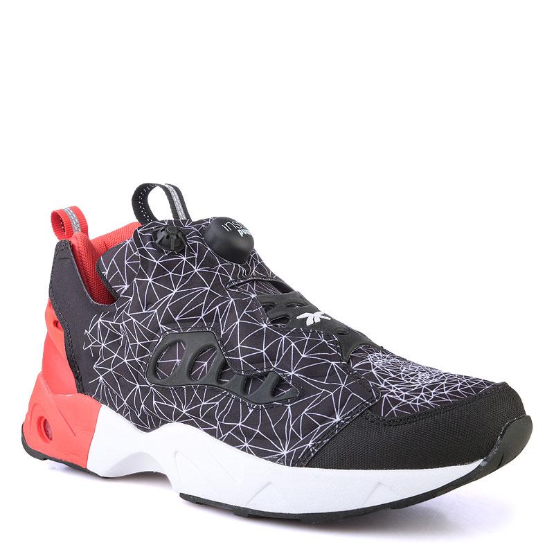 мужские красные  кроссовки reebok instapump fury road V67865 - цена, описание, фото 1