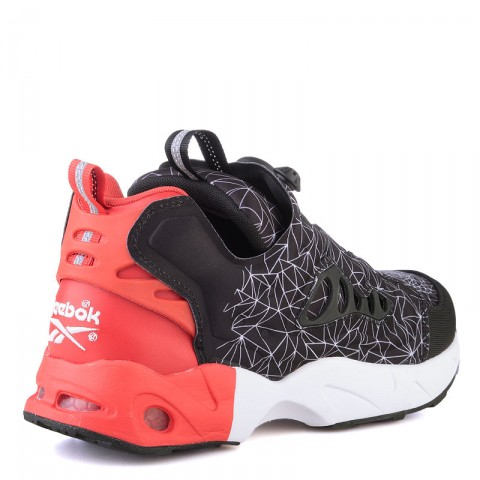 мужские красные  кроссовки reebok instapump fury road V67865 - цена, описание, фото 2