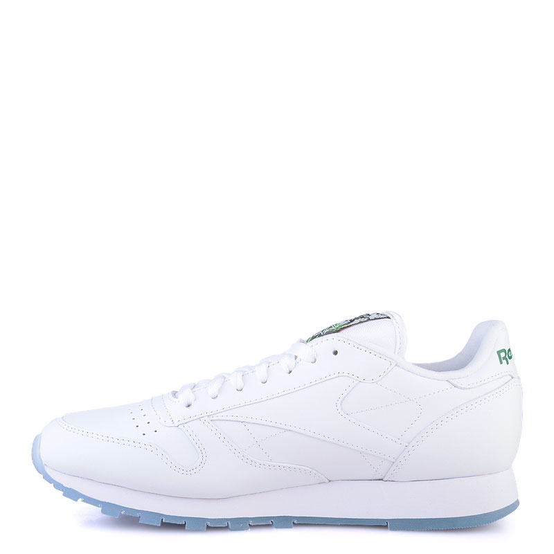 Купить мужские белые  кроссовки reebok сlassic leather sf в магазинах Streetball изображение - 3 картинки