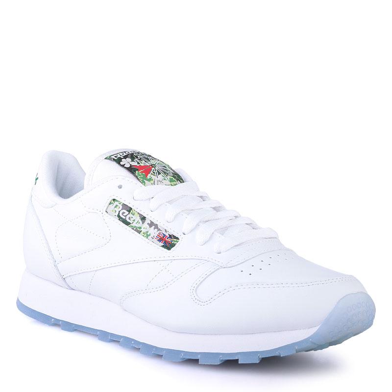 Купить мужские белые  кроссовки reebok сlassic leather sf в магазинах Streetball изображение - 1 картинки