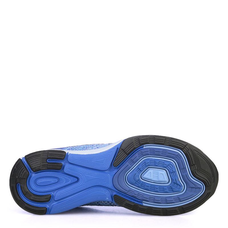 женские синие  кроссовки nike wmns lunarglide 7 747356-404 - цена, описание, фото 4