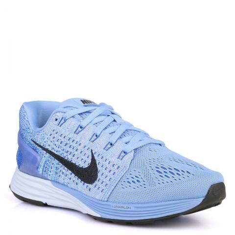 женские синие  кроссовки nike wmns lunarglide 7 747356-404 - цена, описание, фото 1