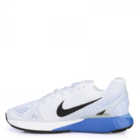 женские белые  кроссовки nike wmns lunarglide 7 747356-104 - цена, описание, фото 3