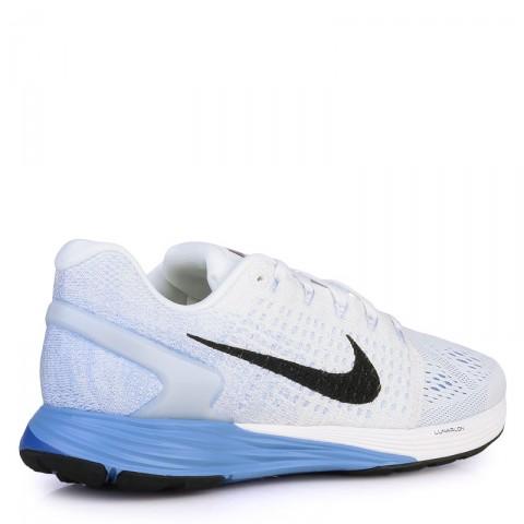 женские белые  кроссовки nike wmns lunarglide 7 747356-104 - цена, описание, фото 2