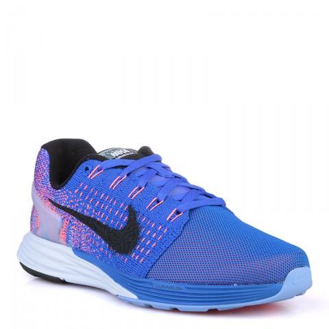 женские синие  кроссовки nike wmns lunarglide 7 flash 803567-408 - цена, описание, фото 1