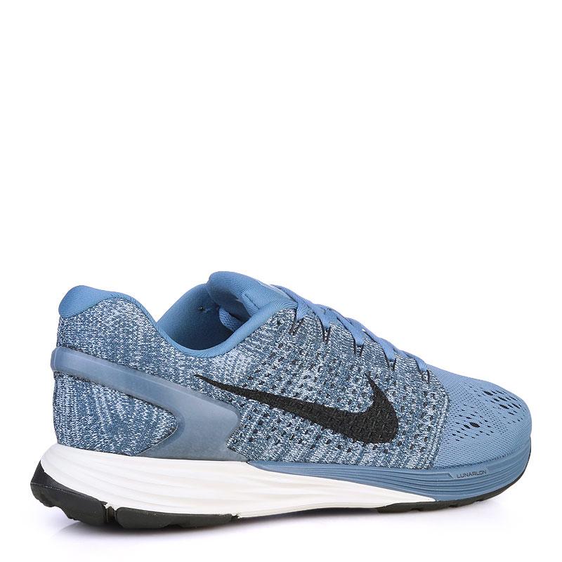 мужские синие  кроссовки nike lunarglide 7 747355-403 - цена, описание, фото 2