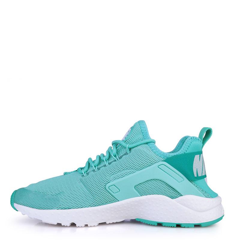 женские изумрудные  кроссовки nike wmns air huarache run ultra 819151-300 - цена, описание, фото 3