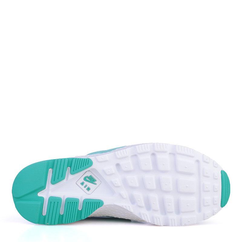 женские изумрудные  кроссовки nike wmns air huarache run ultra 819151-300 - цена, описание, фото 4