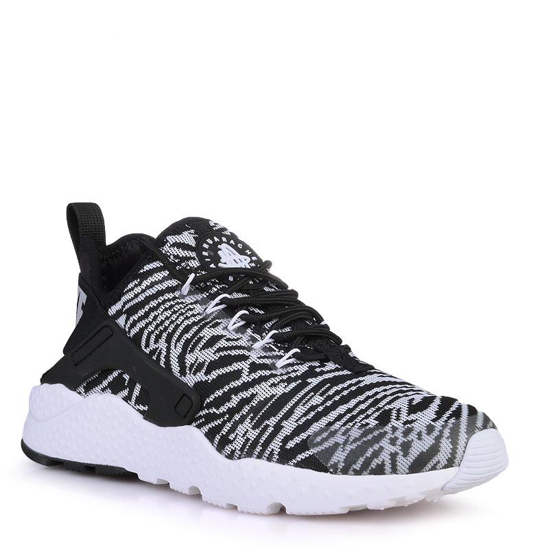 Кроссовки Nike sportswear WMNS Air Huarache Run Ultra JacquardКроссовки lifestyle<br>текстиль,резина<br><br>Цвет: Черный<br>Размеры US: 5.5;6;7.5