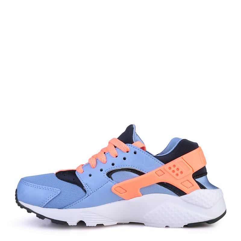 Купить детские голубые  кроссовки nike huarache run в магазинах Streetball изображение - 3 картинки