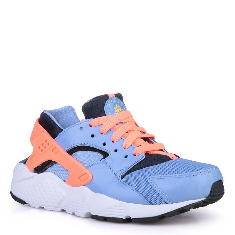 Купить детские голубые  кроссовки nike huarache run в магазинах Streetball изображение - 1 картинки