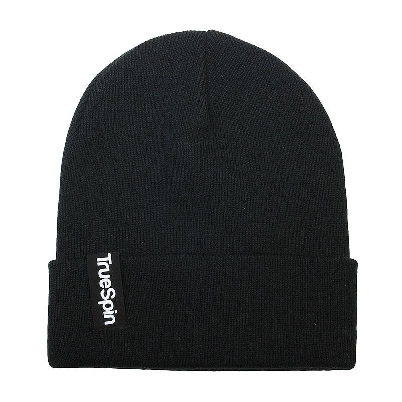 мужскую черную  шапка  true spin basic Basic-blk - цена, описание, фото 1