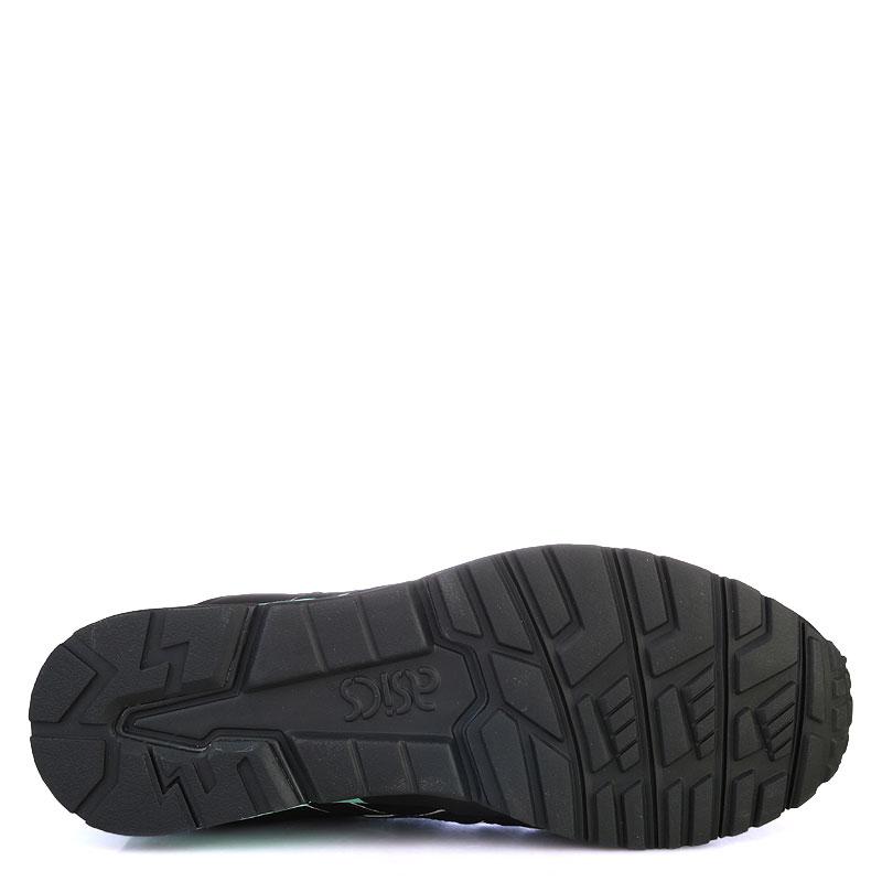 Купить мужские черные,зеленые  кроссовки asics tiger gel-lyte v в магазинах Streetball изображение - 4 картинки