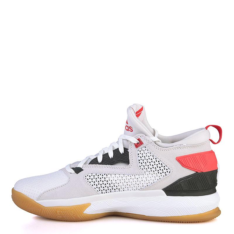Купить мужские серые, белые, красные, чёрные, коричневые  кроссовки adidas d lillard 2 в магазинах Streetball изображение - 3 картинки