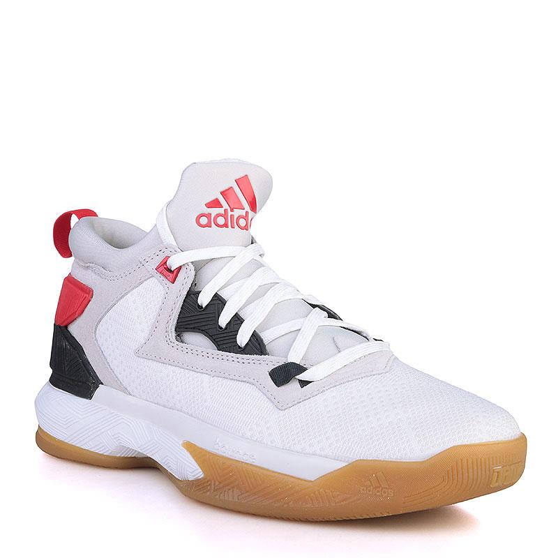 Купить мужские серые, белые, красные, чёрные, коричневые  кроссовки adidas d lillard 2 в магазинах Streetball изображение - 1 картинки