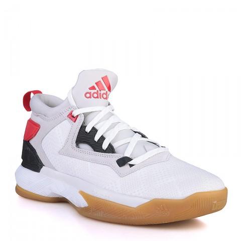 Купить мужские серые, белые, красные, чёрные, коричневые  кроссовки adidas d lillard 2 в магазинах Streetball - изображение 1 картинки