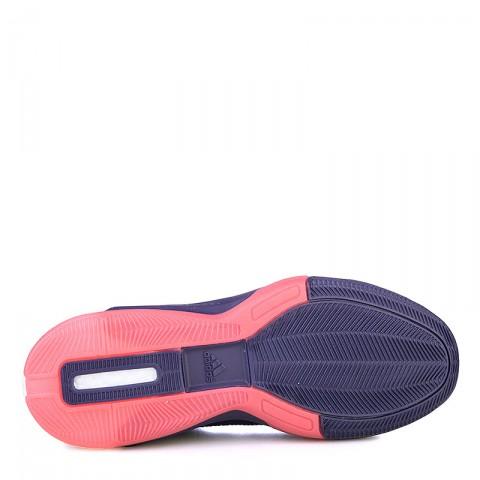 фиолетовые  кроссовки adidas d lillard 2 boost primeknit Q16510 - цена, описание, фото 4