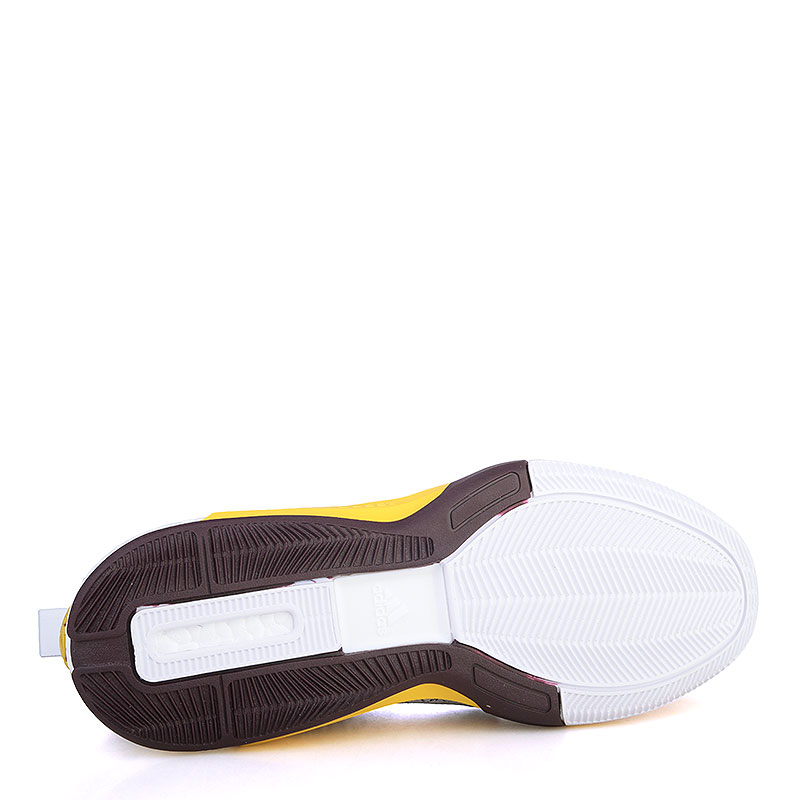 Купить мужские жёлтые, фиолетовые, белые  кроссовки adidas crazylight boost 2.5 low в магазинах Streetball изображение - 4 картинки