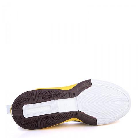 Купить мужские жёлтые, фиолетовые, белые  кроссовки adidas crazylight boost 2.5 low в магазинах Streetball - изображение 4 картинки