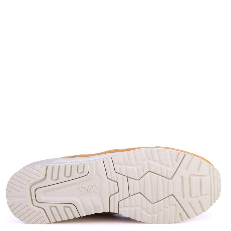 Купить мужские коричневые  кроссовки asics tiger gel-respector в магазинах Streetball изображение - 4 картинки