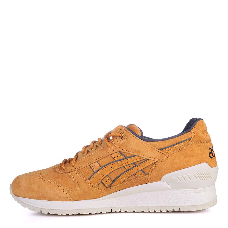 Купить мужские коричневые  кроссовки asics tiger gel-respector в магазинах Streetball изображение - 3 картинки
