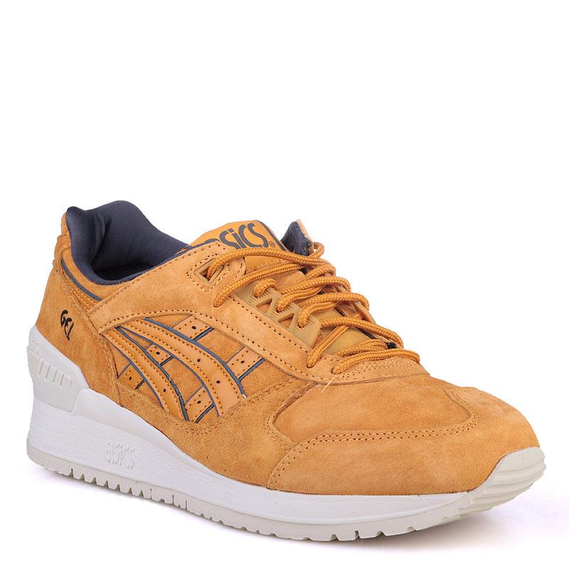 Купить мужские коричневые  кроссовки asics tiger gel-respector в магазинах Streetball изображение - 1 картинки