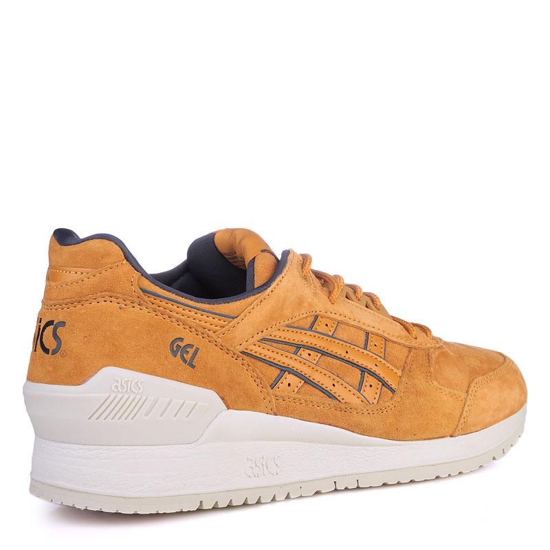 Купить мужские коричневые  кроссовки asics tiger gel-respector в магазинах Streetball изображение - 2 картинки