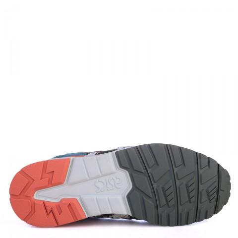 детские синие  кроссовки asics tiger gel-lyte v C541N-4510 - цена, описание, фото 4