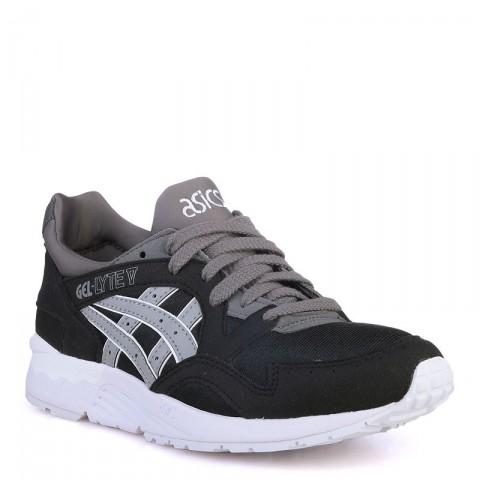 детские черные  кроссовки asics tiger gel-lyte v C541N-9012 - цена, описание, фото 1