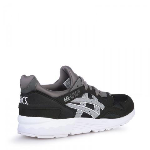 детские черные  кроссовки asics tiger gel-lyte v C541N-9012 - цена, описание, фото 2