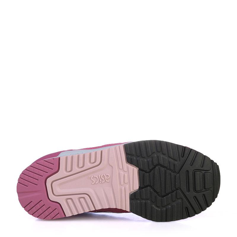 детские фиолетовые   кроссовки asics tiger gel-lyte iii C5A5N-3201 - цена, описание, фото 4