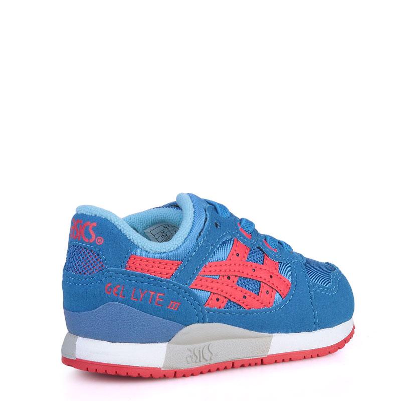 Купить детские синие  кроссовки asics tiger gel-lyte iii в магазинах Streetball изображение - 2 картинки