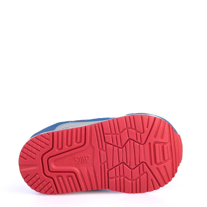 Купить детские синие  кроссовки asics tiger gel-lyte iii в магазинах Streetball изображение - 4 картинки