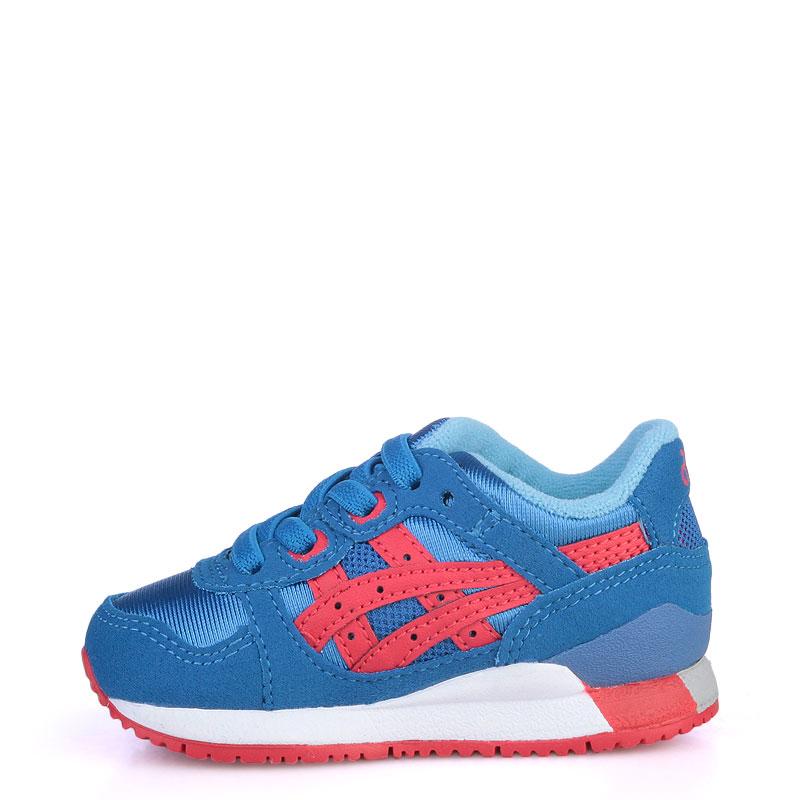 Купить детские синие  кроссовки asics tiger gel-lyte iii в магазинах Streetball изображение - 3 картинки