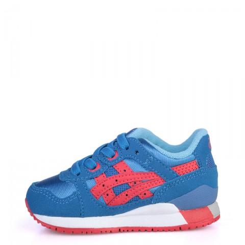 детские синие  кроссовки asics tiger gel-lyte iii C536N-4223 - цена, описание, фото 3