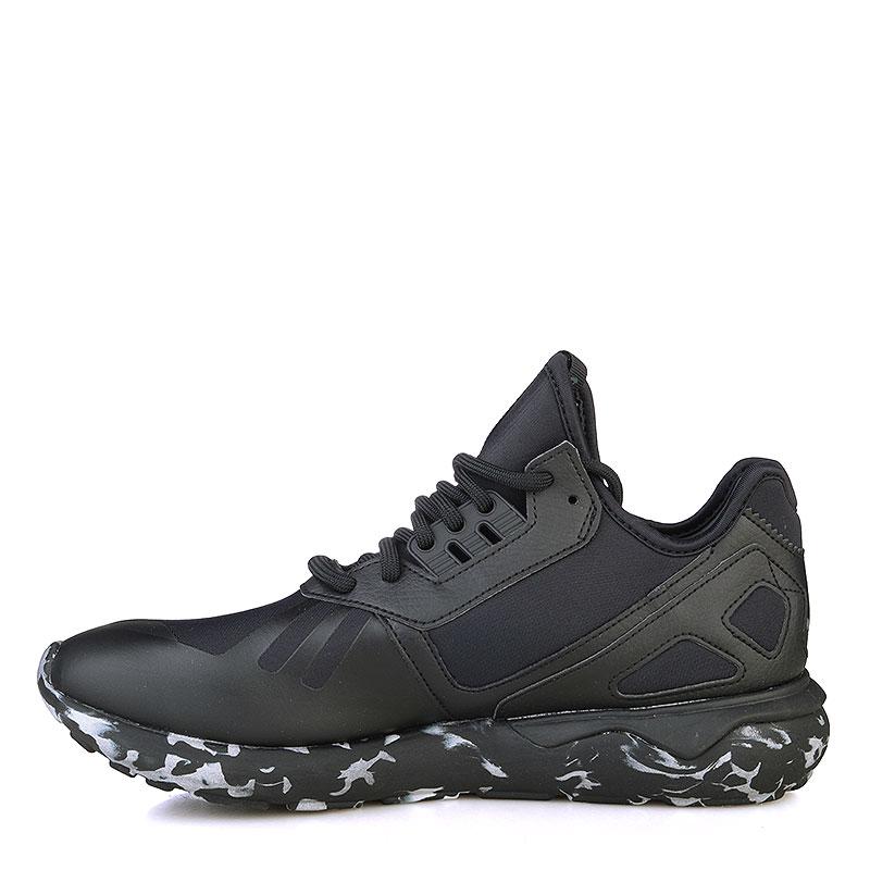 Купить мужские черные, белые  кроссовки adidas tubular runner в магазинах Streetball изображение - 3 картинки