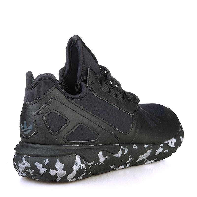 Купить мужские черные, белые  кроссовки adidas tubular runner в магазинах Streetball изображение - 2 картинки