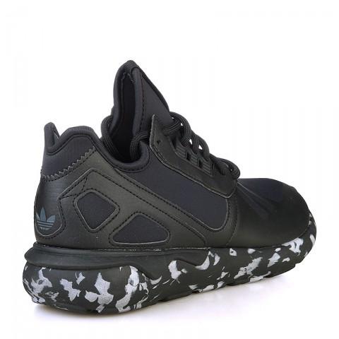 Купить мужские черные, белые  кроссовки adidas tubular runner в магазинах Streetball - изображение 2 картинки