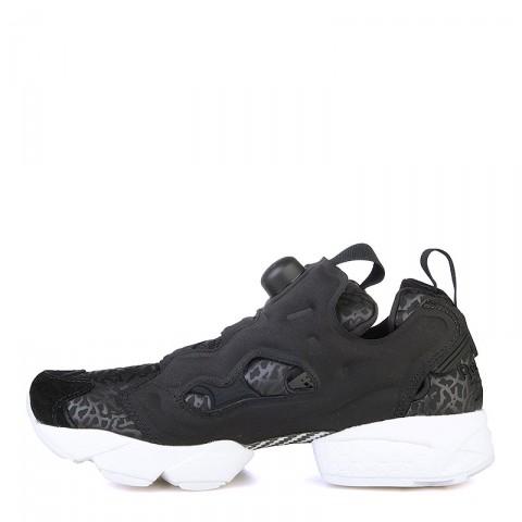 женские черные, белые  кроссовки reebok instapump fury gallery V70812 - цена, описание, фото 3