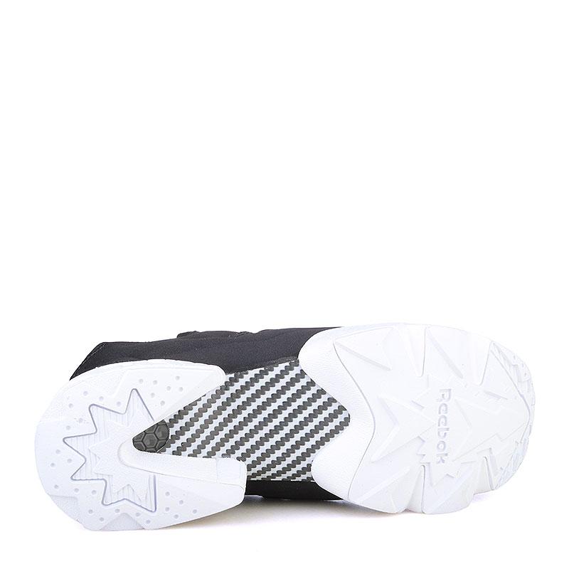 женские черные, белые  кроссовки reebok instapump fury gallery V70812 - цена, описание, фото 4
