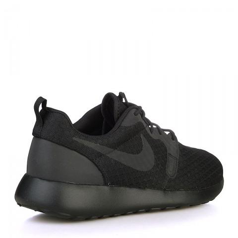 мужские черные  кроссовки nike nike roshe one hyp 636220-005 - цена, описание, фото 2