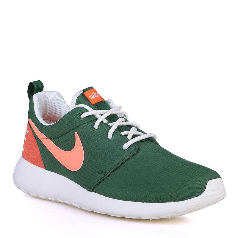 Купить женские зелёные, оранжевые, белые  кроссовки nike wmns roshe one retro в магазинах Streetball изображение - 1 картинки