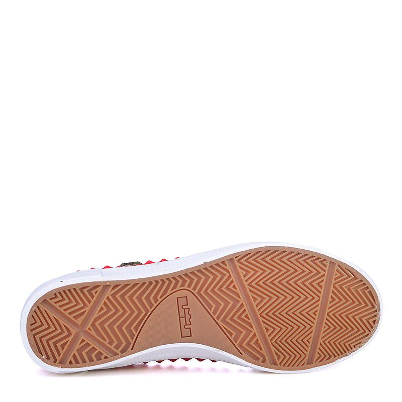 мужские красные, белые  кроссовки nike lebron xiii lifestyle 819859-600 - цена, описание, фото 4