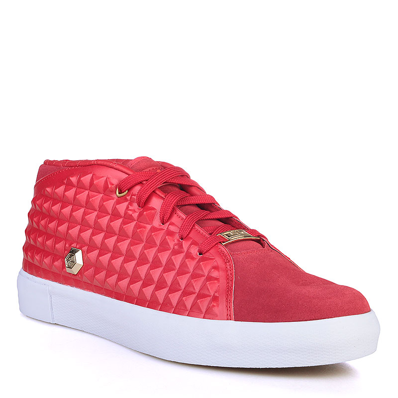 мужские красные, белые  кроссовки nike lebron xiii lifestyle 819859-600 - цена, описание, фото 1