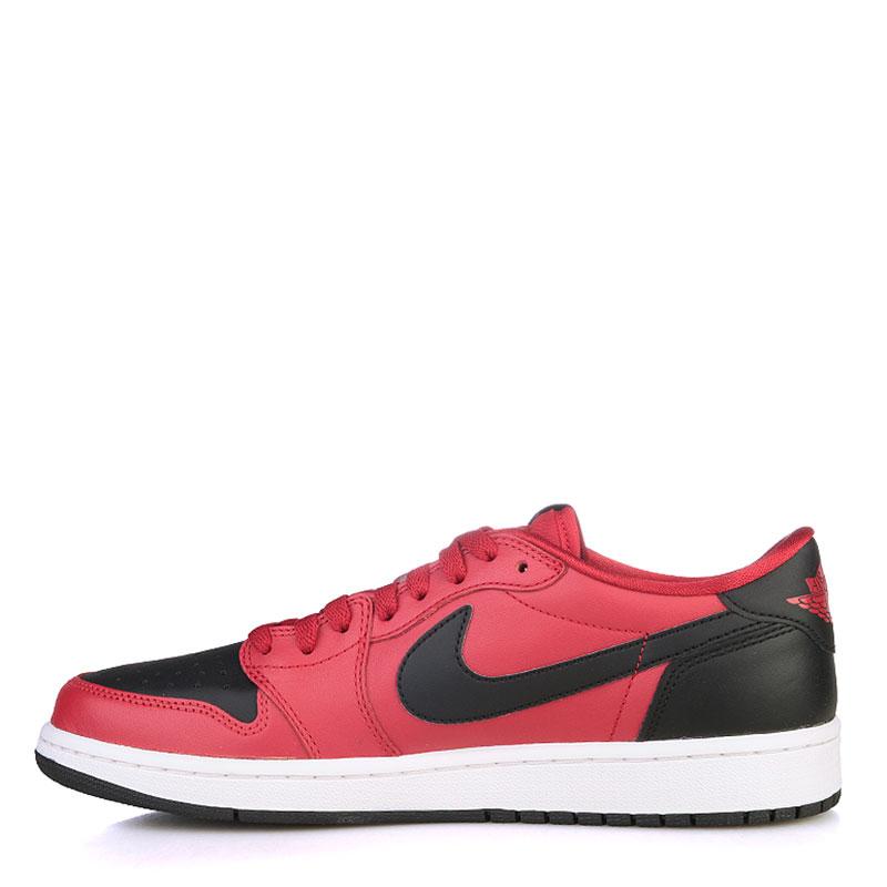 Купить мужские черные, красные, белые  кроссовки air jordan 1 retro low og в магазинах Streetball изображение - 3 картинки