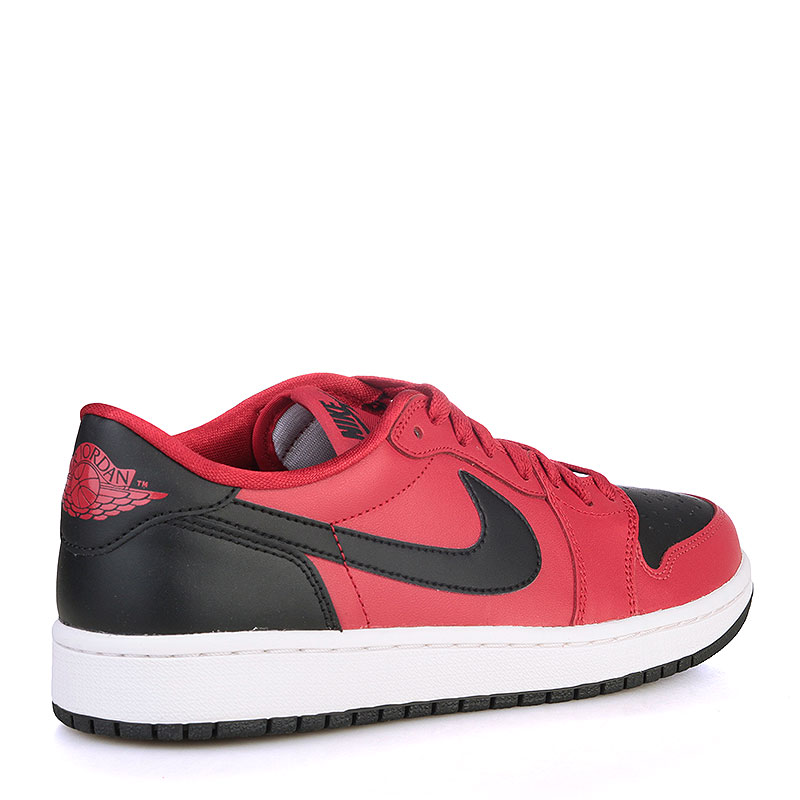 Купить мужские черные, красные, белые  кроссовки air jordan 1 retro low og в магазинах Streetball изображение - 2 картинки