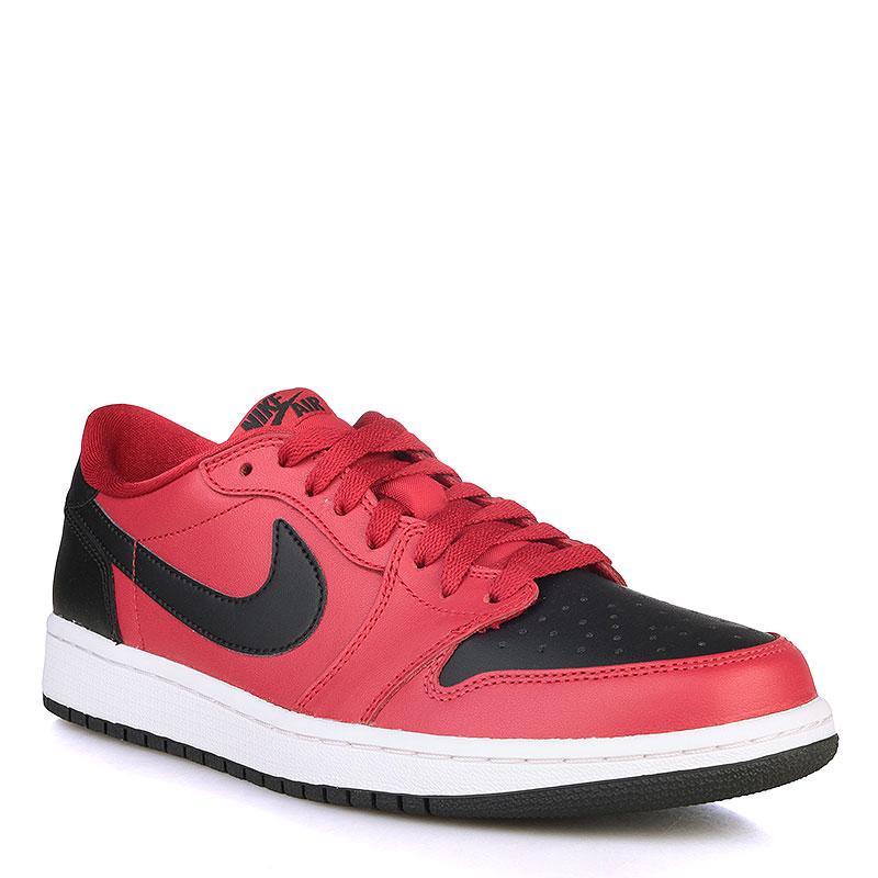 Купить мужские черные, красные, белые  кроссовки air jordan 1 retro low og в магазинах Streetball изображение - 1 картинки